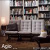 FUJI FURNITUREの『agio』なら、セパレートタイプだから狭い部屋にも対応できる!座り心地も◎