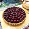 井の頭公園の「そくらのケーキを食べる会」でアメリカンチェリーのタルト、ベイクドチーズケーキ、ガトーショコラ。
