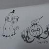 うろ覚えでポケモンを描いてみた。