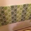 トイレの穴をカラーパネル製「なんちゃってファブリックパネル」で隠してみた