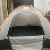 ステラリッジ・テントのボトムを修理してみた