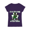 Great It's all fun and games until you meet my Irish Temper shirt