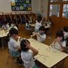 さきとり幼稚園 しめ縄作り