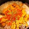 雲丹と鯛とイクラの土鍋ご飯
