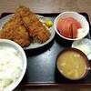 西川口の「あおき食堂」でいわしフライ定食を食べました★
