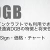 仮想通貨DygiByte(DGB)とは|特徴・チャートの価格と将来性