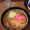 金沢駅の加賀白山そばで「白エビかき揚げ蕎麦」を食べた