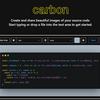 【雑記】ソースコードを画像化できるサービス「carbon」紹介