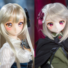 DDH-06(フレッシュ肌)&DDH-01(セミホワイト肌)<DDカスタムヘッド>