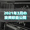 【目指せ不労所得】2021年3月の投資収益公開