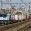 1月13日撮影 東海道線 平塚~大磯間 貨物列車撮影 久々にいつもの所で3075ㇾと2079ㇾ