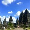 世界遺産「プランバナン寺院」観光レポート。ジョグジャカルタ空港すぐ近く。