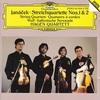 ヤナーチェク:弦楽四重奏曲第1・2番ほか/ハーゲン弦楽四重奏団