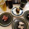ひとり回転寿司。