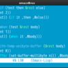 aalto-dark, comidiaを Emacs24の theme対応しました