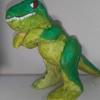 ティラノサウルス完成! プリンミクスと共に