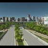 Cities:Skylinesで半地下高速道路を作る
