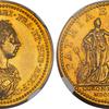 イギリス1761年ジョージ3世戴冠記念メダルMS61