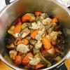 筑前煮と鮭の炊き込みご飯