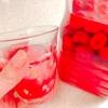 【ラズベリー酢とラズベリージャムレシピ】国産ラズベリーでジャムとラズベリー酒とフルーツ酢の仕込み②