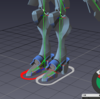 【Akeytsu】 Reverse Footがうまく設定できない