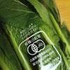 有機小松菜とミルワーム