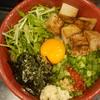 【純也】ライス終日食べ放題!魚介と醤油の風味が効いたまぜそばが美味い!