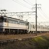 第827列車 「 甲34 東京メトロ13000系(13130f)の甲種輸送を狙う 」