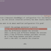Ubuntu 18.04 で apt-get したときの対話画面をスキップする