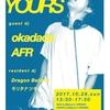 10/29(日) NEW YOURS vol.4 @伊勢2NICHYOUME PARADAISE