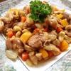 鶏とカシューナッツの彩り炒め(おまけ:どうして園児の風邪は感染力が強いのか⁉︎)