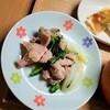 【作り置きレシピ】鶏肉と春菊の煮物の作り方。