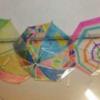 富士見小6年生の取り組み「西門を盛り上げよう」シャッターアート・アンブレラアート展示中!!