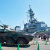 清水マリンフェスタで掃海艦「ひらど」、護衛艦「はるさめ」を見学