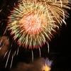 010 山から放つ色鮮やかな花火
