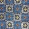 着物生地(131)幾何学に花模様織り出し西陣伝承紬
