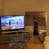テレビ画面でレッスン