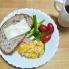 食事の支度でラクするちょっとしたコツ・休日のカフェもどきあり合わせ朝食の場合