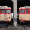新見駅周辺散歩と津山まなびの鉄道館(吉備之国くまなく3)