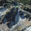 衛星写真で日本百名山の水晶岳を眺めてみよう Let's look at the satellite image of Mount Suisho, one of japan famous 100 mountains.
