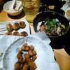 【今日の食卓】鳥貴族で、家族で一番ハマっているのが「ひざなんこつ唐揚」。コリコリ感がたまらない。安上がりな家族だ。(^o^) Dishes at Torikizoku - Izakaya restaurant of Chicken dishes. #食探三昧 #鳥貴族 #Izakaya