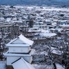 【写真で観光】極寒の会津若松。鶴ヶ城(会津若松城)の展望スペースから城主気分で街を見渡してみた✨