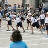 チャレンジ運動会③ 1年生徒競走