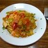 春キャベツのパスタ①トマトソース