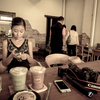 笑顔が爽やかなオーナーさん・Campus Coffee Roaster