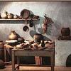 イタリア食の歴史 古代ローマ  キッチンから食材について 12-1