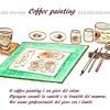 Coffee painting「コーヒーペインティング」