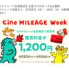 【これは見逃せない】2019.06.20〜06.26の7日間TOHOシネマイレージ会員は入場料金が1,900円→1,200円になるCine MILEAGE Weekが開催されるぞ!