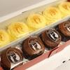 ペイストリー スナッフルスのチーズオムレットと蒸し焼きショコラ