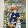 私的名画⑥ ルノワール「二人の姉妹」